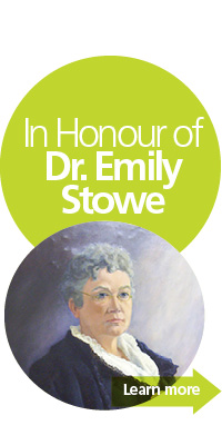 portrait of dr. emily stowe